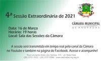 Câmara vota projeto que autoriza Andradas a participar de consórcio para compra de vacinas