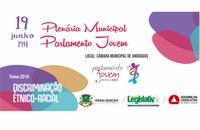 Convite - Plenária Municipal do Parlamento Jovem