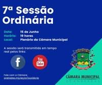 PAUTA DA 07ª SESSÃO ORDINÁRIA DE 2021